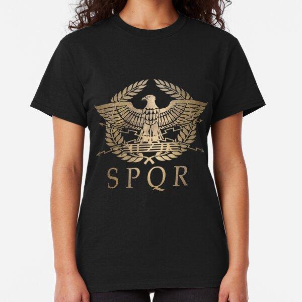 SPQR- Roman Empire Standard Shield Classic T-Shirt