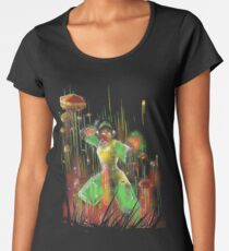 she rocks Women's Premium T-Shirt