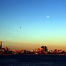 Moon Over Melbourne by Asoka