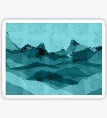 Mountain X 0.1 Sticker