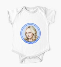 Team Caroline v2 - The Vampire Diaries - Caroline Forbes - (Designs4You) Candice Accola - TVD One Piece - Short Sleeve
