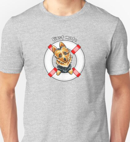 Australian Terrier : First Mate T-Shirt