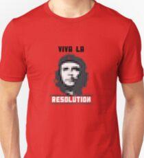 VIVA LA RESOLUTION - white Unisex T-Shirt