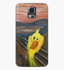 The Platypus Scream - A world without yellow Case/Skin for Samsung Galaxy