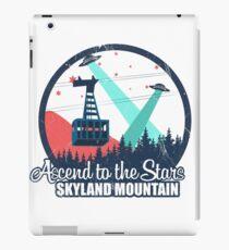 Ascend to the Stars II - distressed iPad Case/Skin