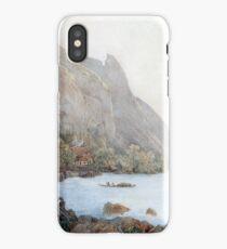 Thomas Ender Mountain Landscape Lake Atter Austria iPhone Case/Skin
