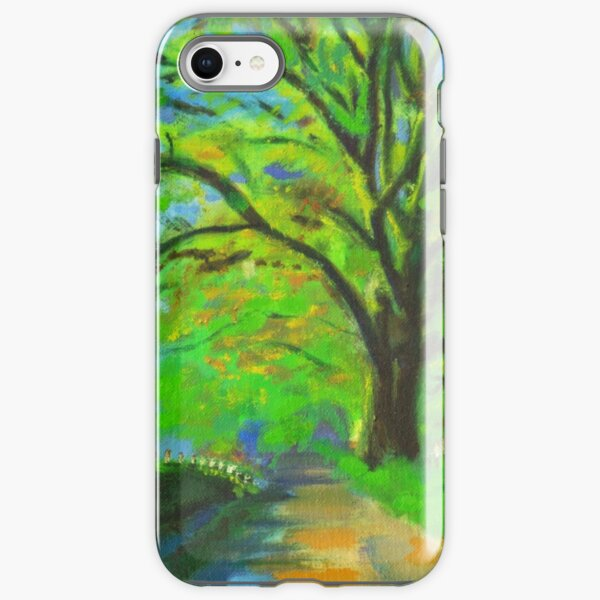 Walk with me my love. iPhone Tough Case