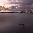 Mediterranean sunset by miradorpictures