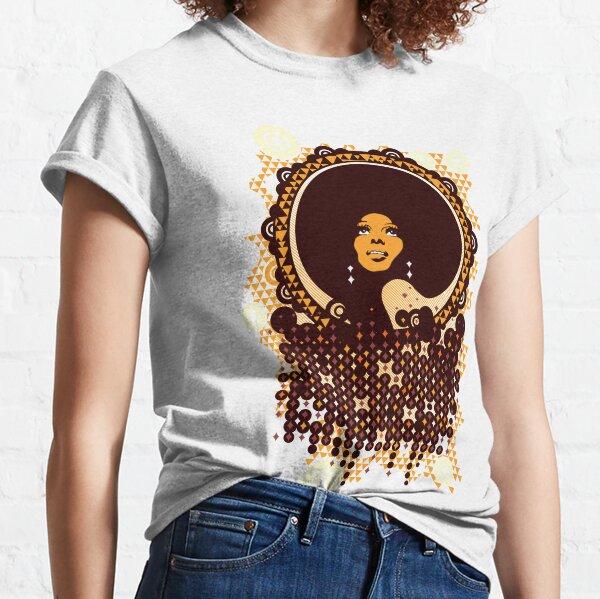 Disco Diva retro art Classic T-Shirt