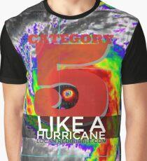 Like A Hurricane   Category 5 Graphic T-Shirt