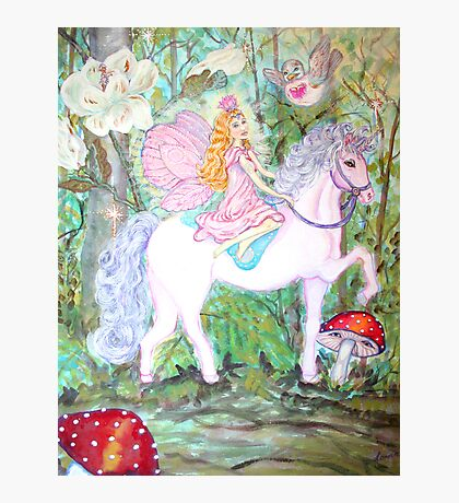 Fairy Forest Patrol Photographic Print