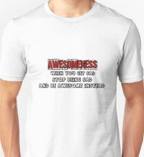 AWESOME! Unisex T-Shirt