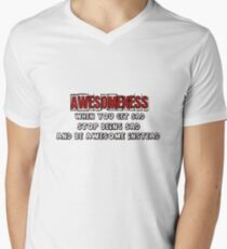 AWESOME! Men's V-Neck T-Shirt