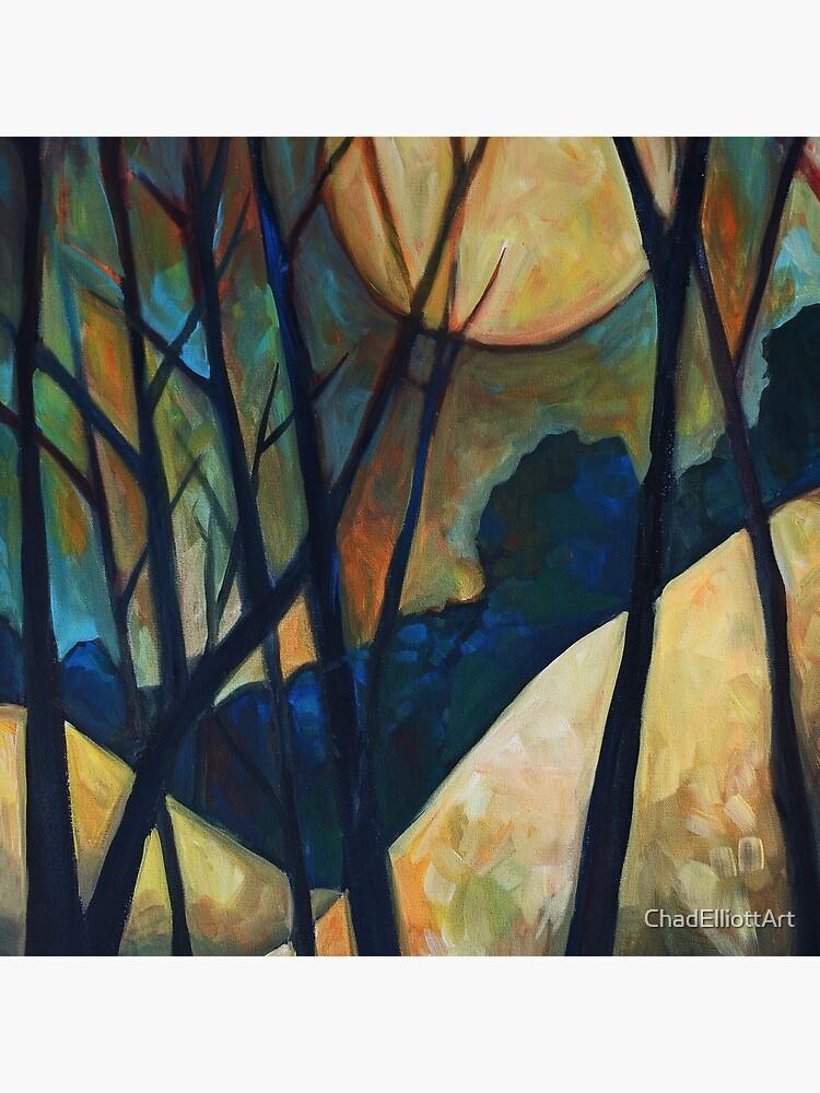 Harvest Moon by ChadElliottArt