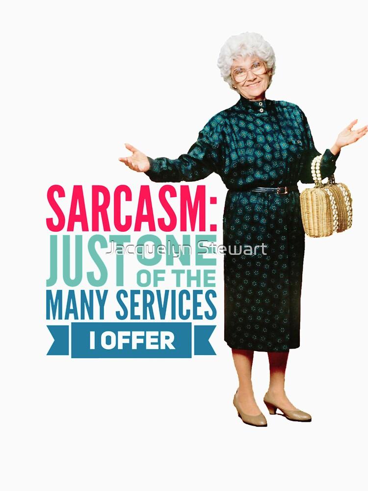 Golden Girls Sarcasm by AtticSalt
