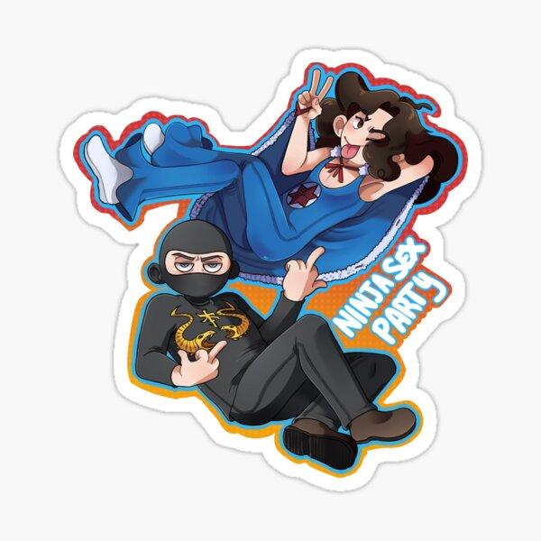 Ninja Sex Party  Sticker