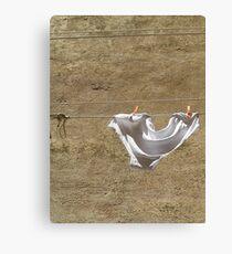 Undies on Line Canvas Print