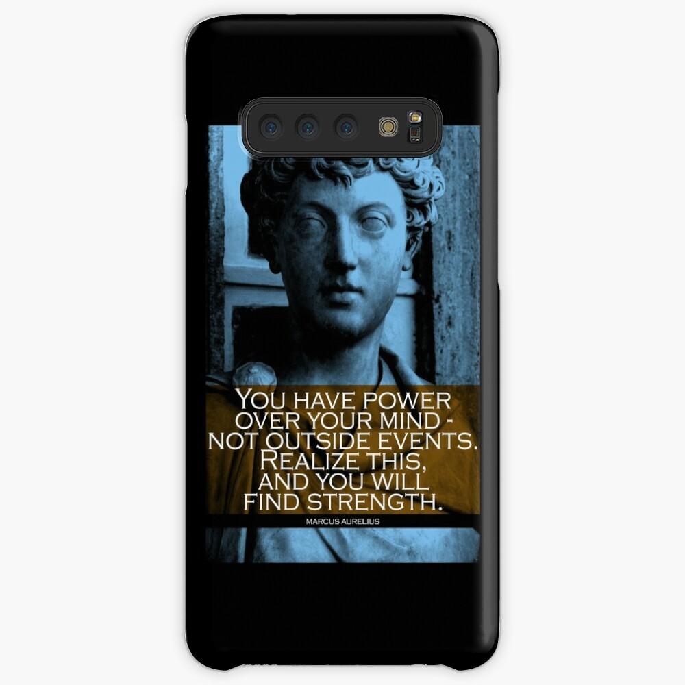 Marcus Aurelius Quote Case & Skin for Samsung Galaxy
