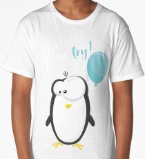 Penguin white Long T-Shirt