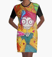 Love Potion Number Nine Graphic T-Shirt Dress
