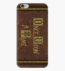 Once Upon A Time Book iPhone Case