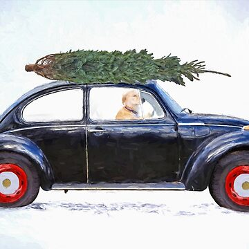 Christmas Tree Car by 14ktgold