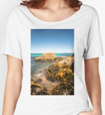 Kelp, Friendly Beaches,Tasmania Women's Relaxed Fit T-Shirt