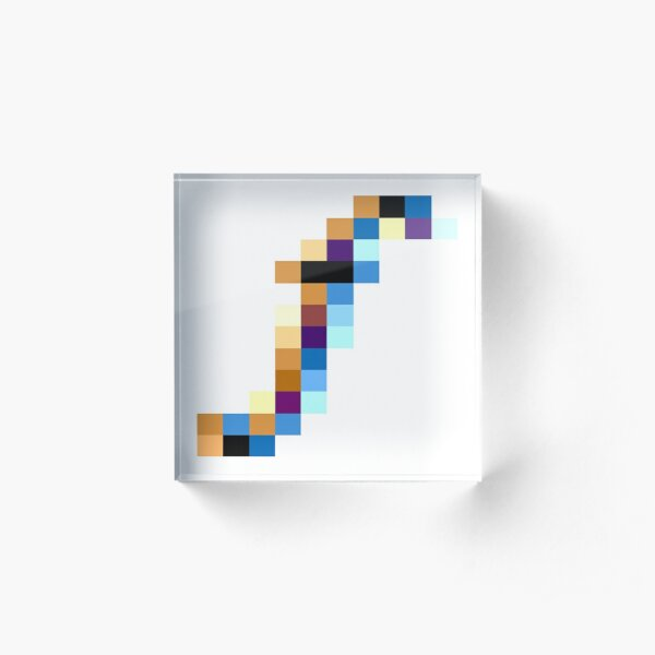 Symbol f, letter f, fantasy, fact, focus, foundation, fruit, Facebook, fiction, frequency, female, f Acrylic Block