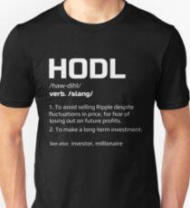HODL Ripple  Unisex T-Shirt