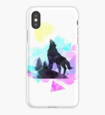 Watercolor Coyote iPhone Case/Skin
