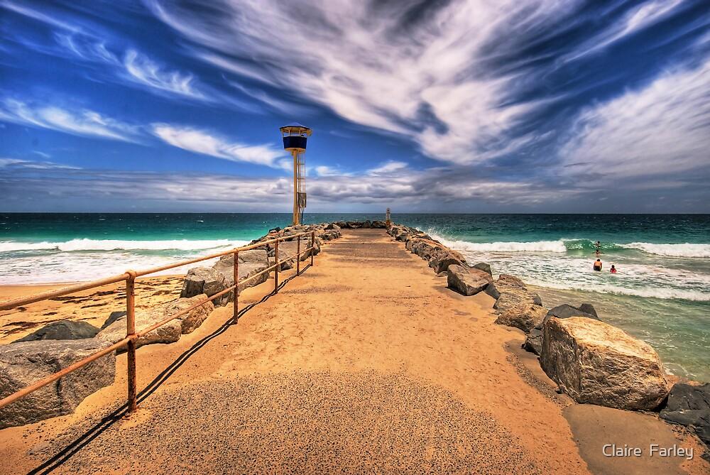 City Beach Groyne by Claire  Farley