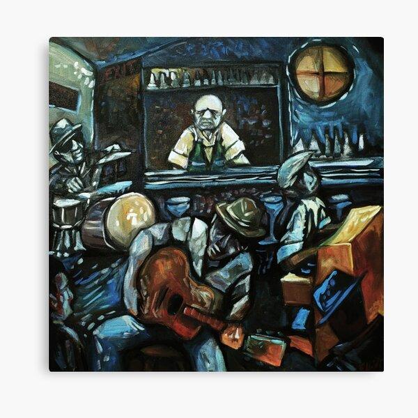 Bartender Blues Canvas Print