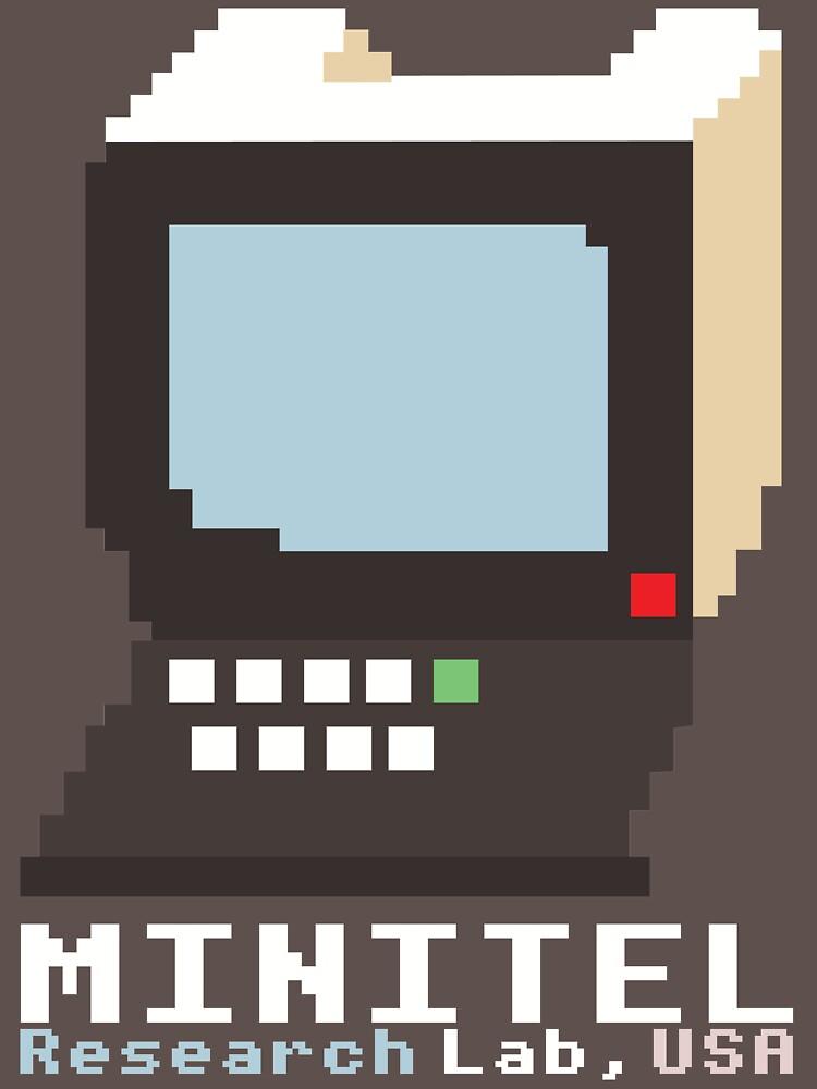 Minitel Research Lab, USA T-shirt by minitel