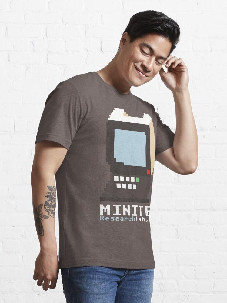 Alternate view of Minitel Research Lab, USA T-shirt Essential T-Shirt