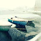 Boat In A Blizzard, Woods Hole by CapeCodWave