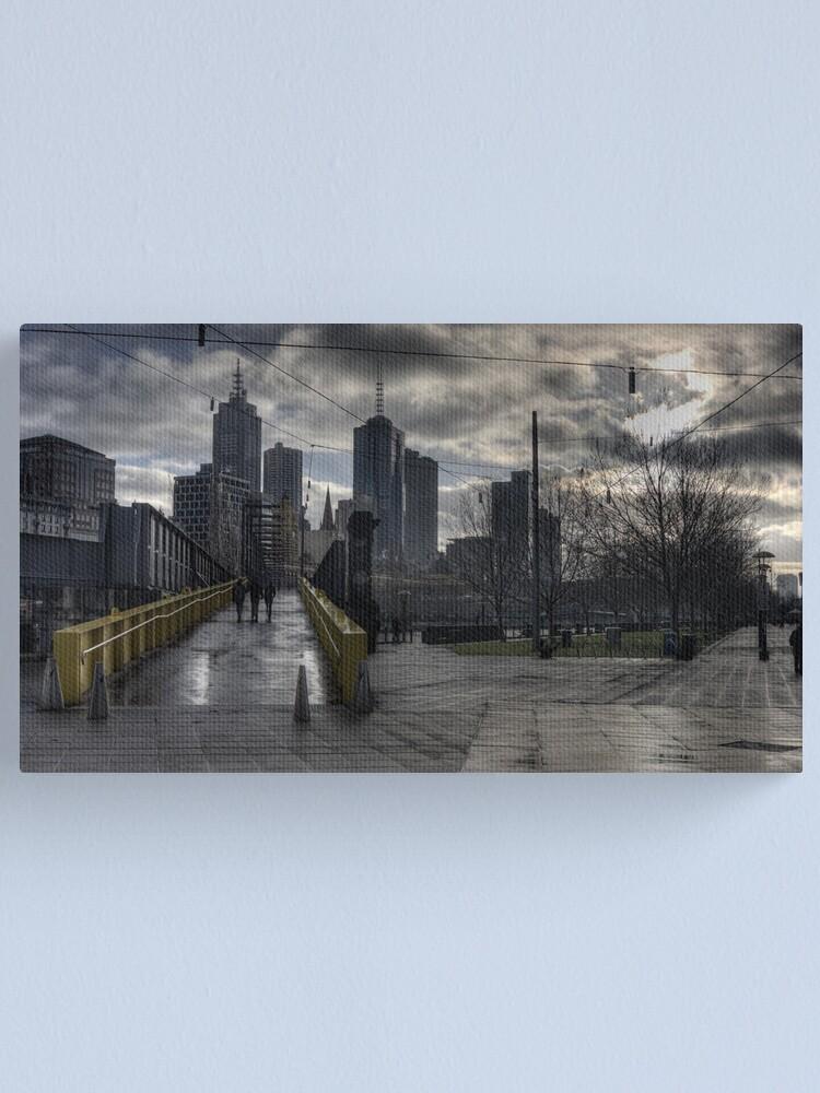 Alternate view of Southbank Dawn Canvas Print