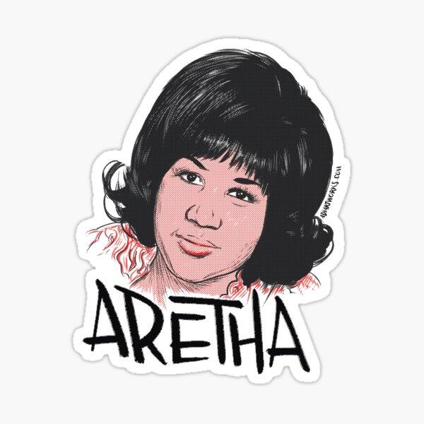 You better think Aretha! Pegatina