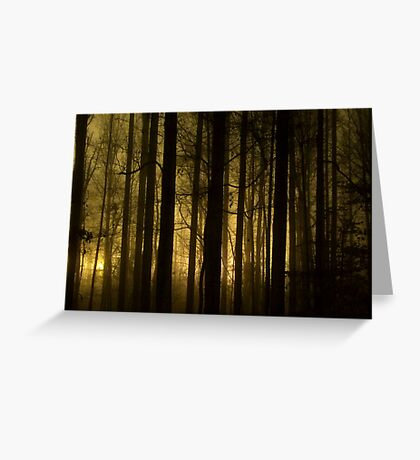 Glow 1 Greeting Card
