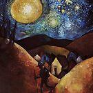 Wayfarer Moon by ChadElliottArt