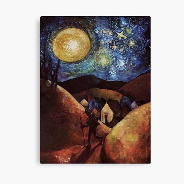 Wayfarer Moon Canvas Print