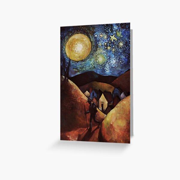 Wayfarer Moon Greeting Card