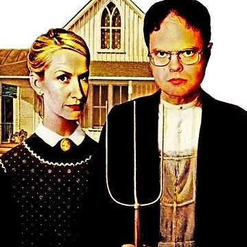 American Gothic Dwight y Angela de katewilliams320