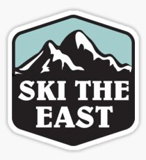 ski the east Sticker