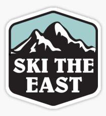 Ski fahren im Osten Sticker
