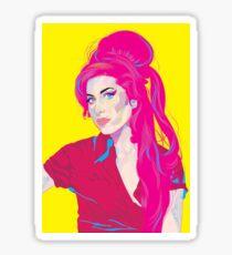 Vintage Art Amy Lady Winehouse Sticker