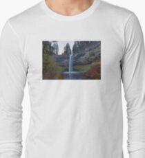 South Falls at Silver Falls State Park Oregon Long Sleeve T-Shirt