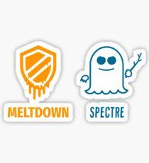 Specter Meltdown Intel-CPU Sticker