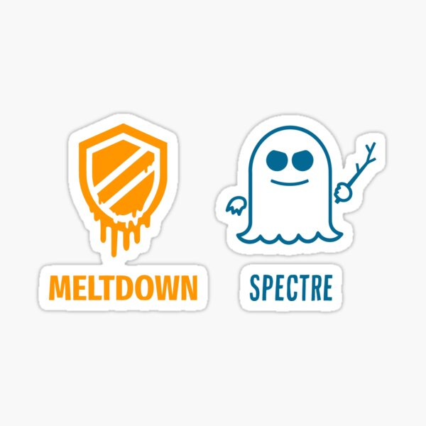meltdown specter cpu intel Sticker