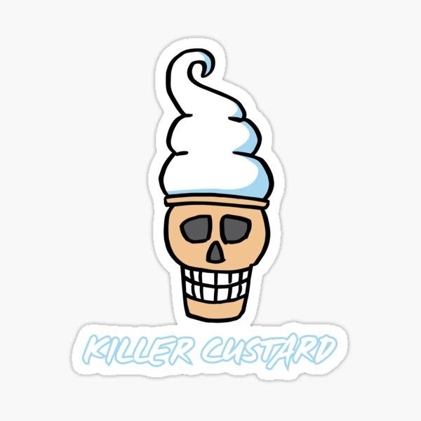 Killer Custard Sticker