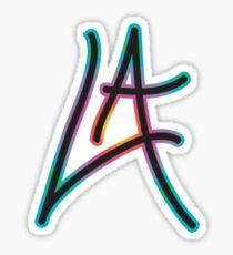 """""""LA"""" Sticker"""